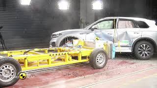 Crash Test - 2018 VW Touareg - EURO NCAP