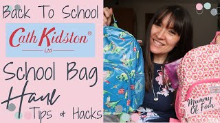 BACK TO SCHOOL SHOPPING UK 2019 | SCHOOL SUPPLIES HAUL | CATH KIDSTON BACKPACK REVIEW