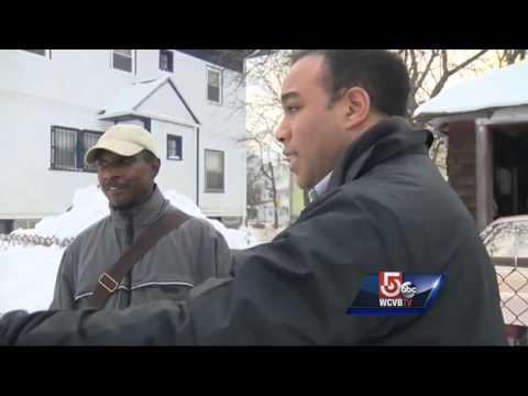 Boston neighborhoods still snow-covered days after storm