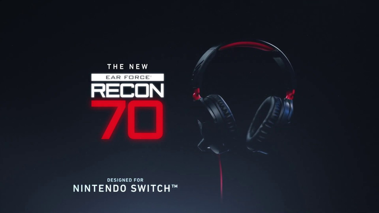 5a6abf71418 Turtle Beach Recon 70 Gaming Headset for Nintendo Switch - YouTube