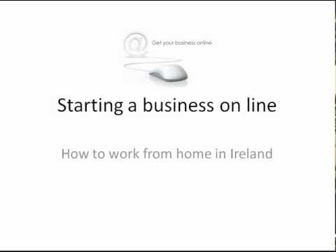 Starting a Business On Line   Work from Home Ireland