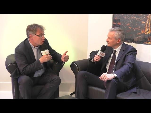 Face à face avec Bruno Le Maire sur la fiscalité agricole !