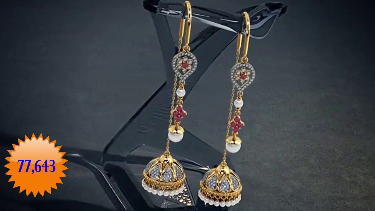 10 Sui Dhaga Earrings Absolutely Gorgeous Designs Watch Each