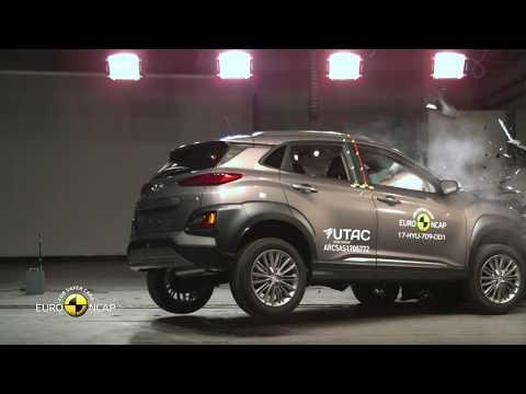 Euro NCAP Crash Test of Hyundai KONA