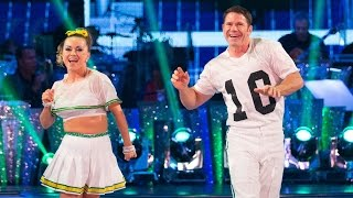 Steve Backshall & Ola Jordan Jive to