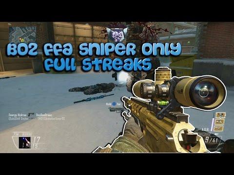 FFA Sniper Only - Full Streaks (BO2)