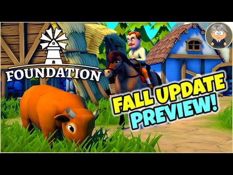 The Fall Content Update - Foundation Gameplay - Exclusive Preview!