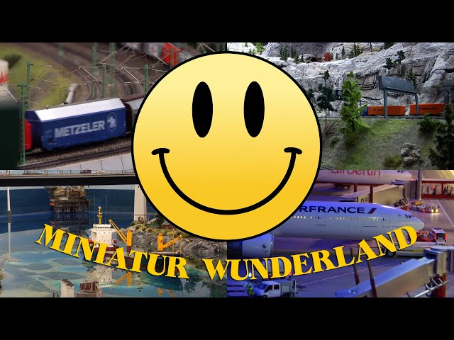 Miniatur Wunderland - Layout Tour - The World's Largest Exhibition of Model Trains (Miniature World)