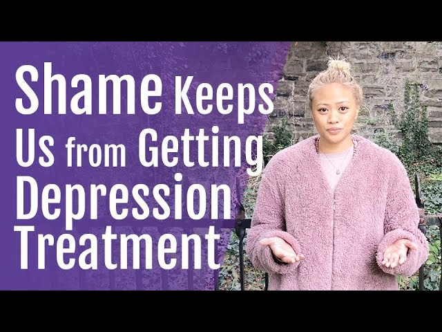 Shame, Stigma Keeps Us from Getting Depression Treatment