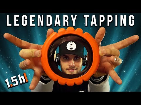 ASMR LEGENDARY TAPPING | 1,5 hour no talking compilation