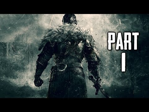 Dark Souls 2 Gameplay Walkthrough Part 1 - Undead Knight DS2