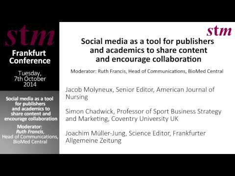 STM Frankfurt 2014 - Social Media - Discussion 1