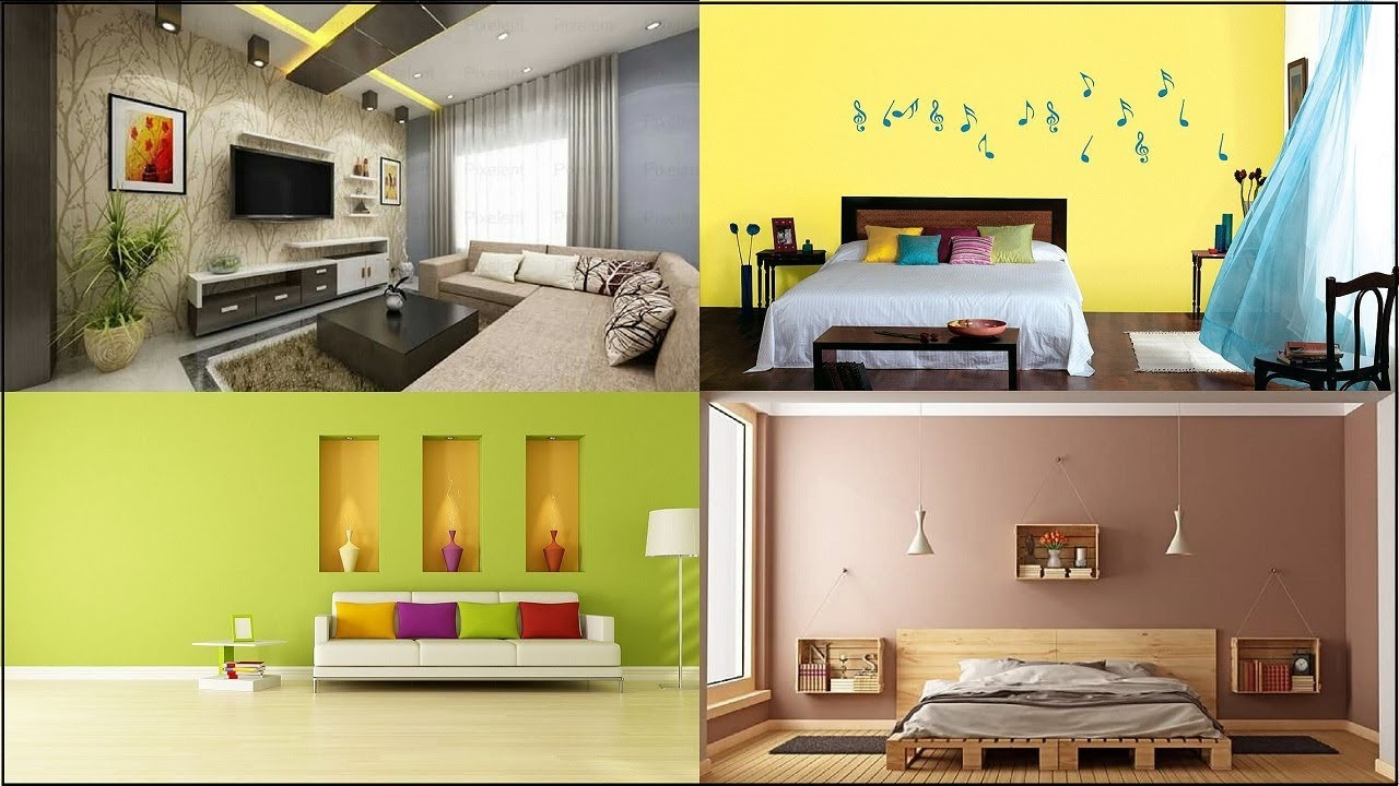 Best Interior Color Combinations Wall Colour Combination For Small Bedroom And Living Room