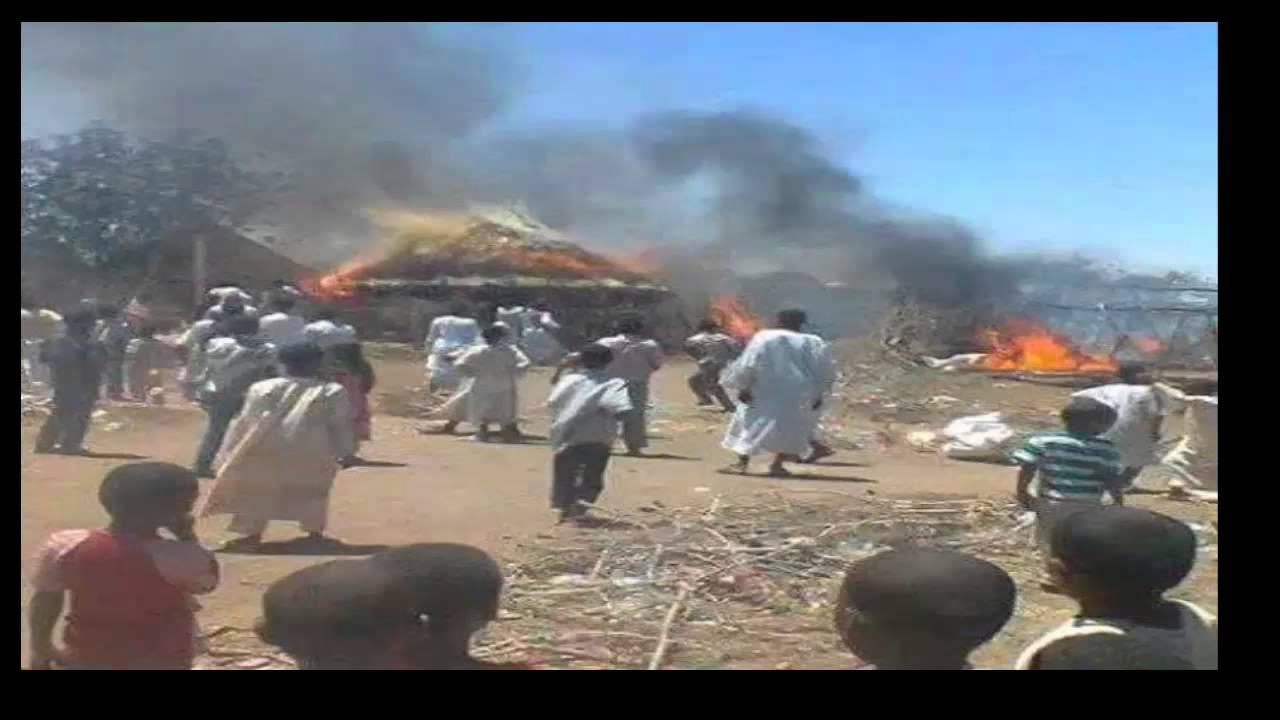 Al Shagarab refugee camp crisis - YouTube