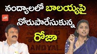 నంద్యాలలో బాలయ్య పై నోరుపారేసుకున్న రోజా   YCP MLA Roja Satirical Comments On Balakrishna   YOYO TV