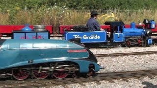 Eastleigh Lakeside Railway Summer Gala 2015