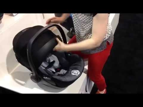 cybex cloud q car seat demo youtube. Black Bedroom Furniture Sets. Home Design Ideas