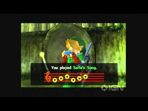 Reuniting With Mido -Zelda: Ocarina of Time - Lost Woods - Part 96