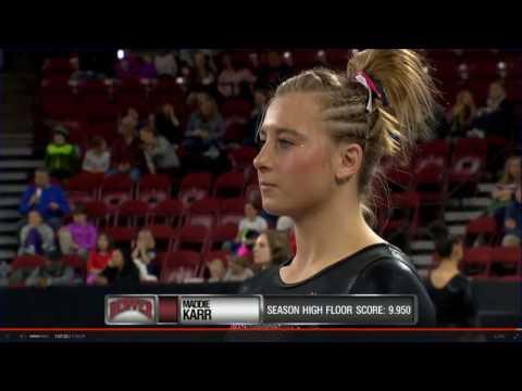 Denver Pioneers, Illinois, Illinois St, Final Rotation Gymnastics NCAA 2017 Final RO