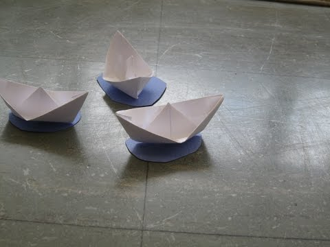 Origami boat craft w/ EZ and Vue