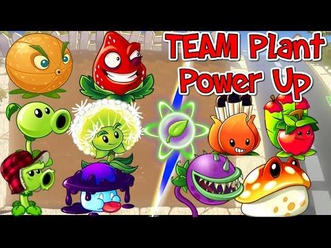 Plants vs. Zombies 2 New TEAM PLANT POWER UP 🍃  Vs Zombies PVZ 2
