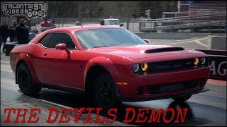 Raucous Nitrous Demon Goes 8.86! Fastest Blower Demon In The World!