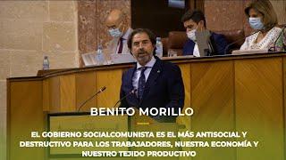 BENITO MORILLO tritura al Gobierno de Pedro Sánchez
