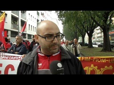 Vertice Ue sul lavoro a Milano, proteste contro il Jobs Act - economy