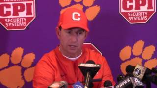 TigerNet.com - Dabo Swinney Wake Forest postgame - 11.19.2016