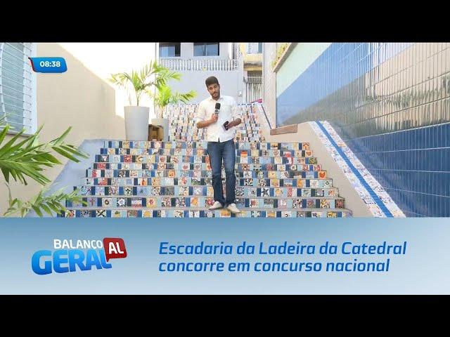 Escadaria da Ladeira da Catedral concorre em concurso nacional