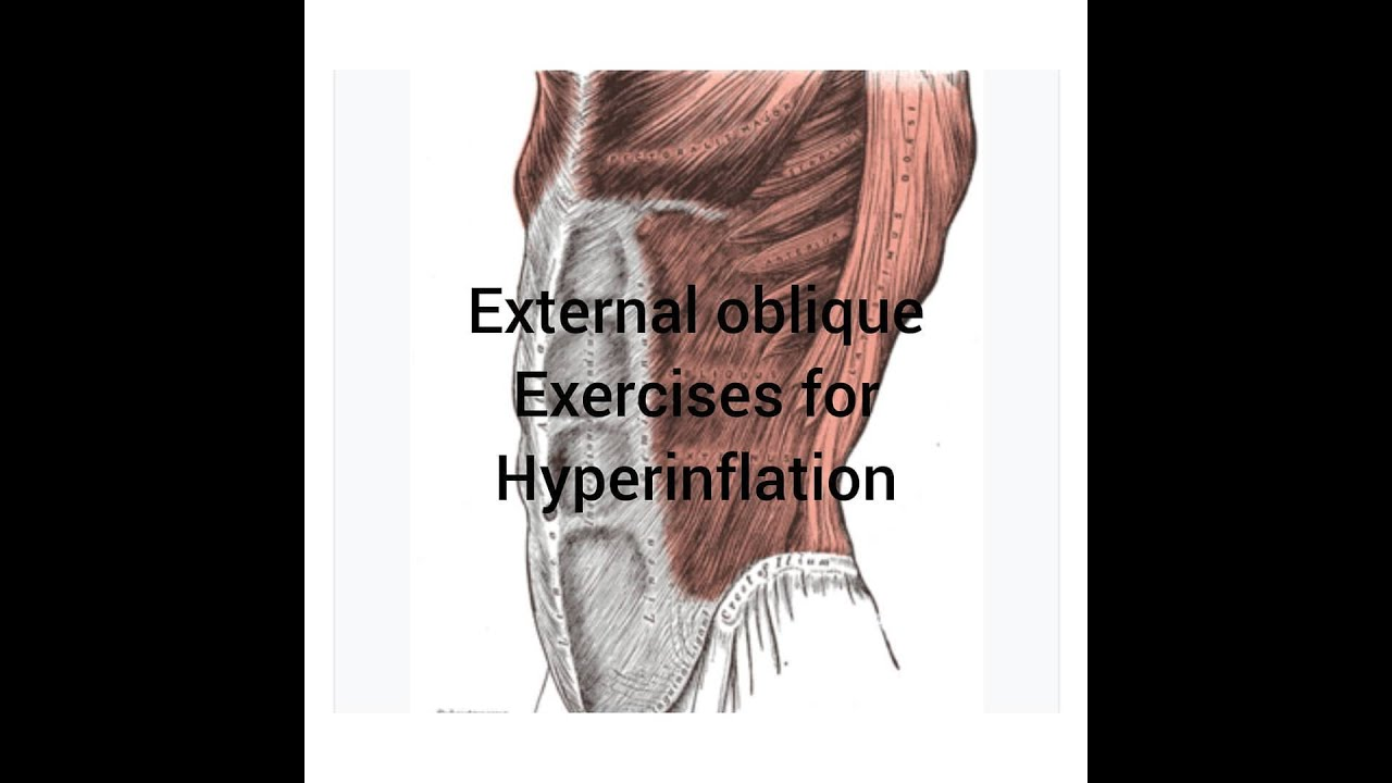 External Oblique Exercises for Hyperinflation