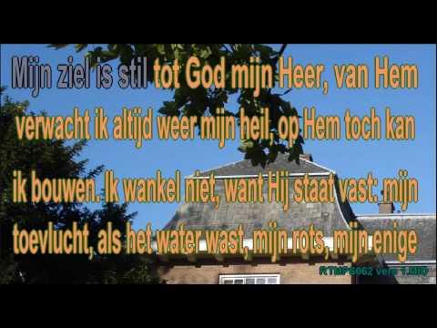 Psalm 62 vers 1 Ritmisch Karaoke Lyrics ..wmv