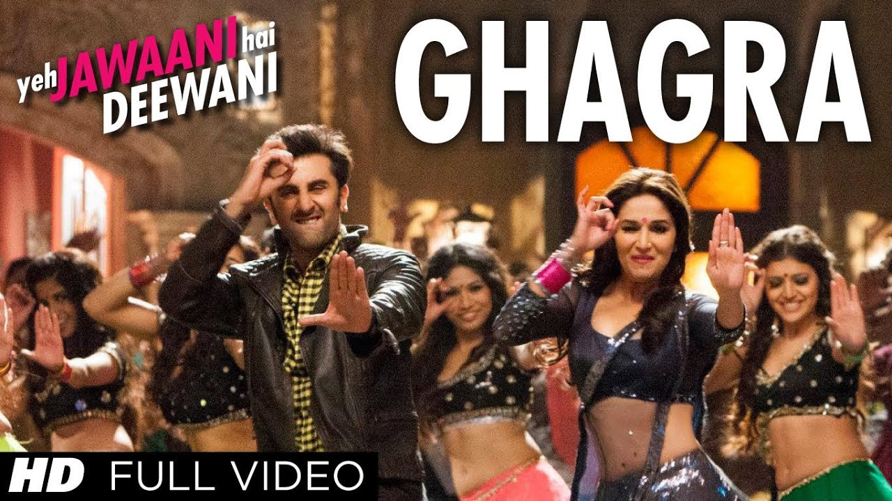 Ghagra | Yeh Jawaani Hai Deewani Full HD Video Song | Madhuri Dixit, Ranbir Kapoor