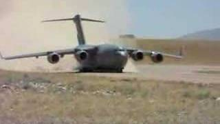c-17 take off Kamp holland