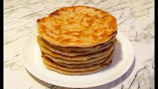 Катлама с Луком / Piyozli qatlama / Tortillas With Onions / Слоёные Лепёшки с Луком / Қаттама