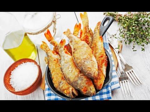 как приготовить мелкую рыбу красноперку