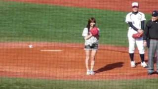 日時:3月16日(月)14:50頃 場所:神宮球場 デジカメで動画固定...