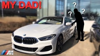 MY DAD DRIVES BRAND NEW BMW 8 SERIES! *2019 M850i xDrive*