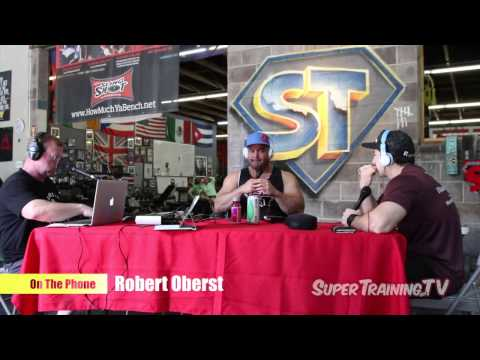 Mark Bell's PowerCast #34 - The Beast Oberst - Strongman Robert Oberst | SuperTraining.TV