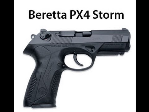 Beretta PX4 Storm 40 Cal full size unboxing - YouTube