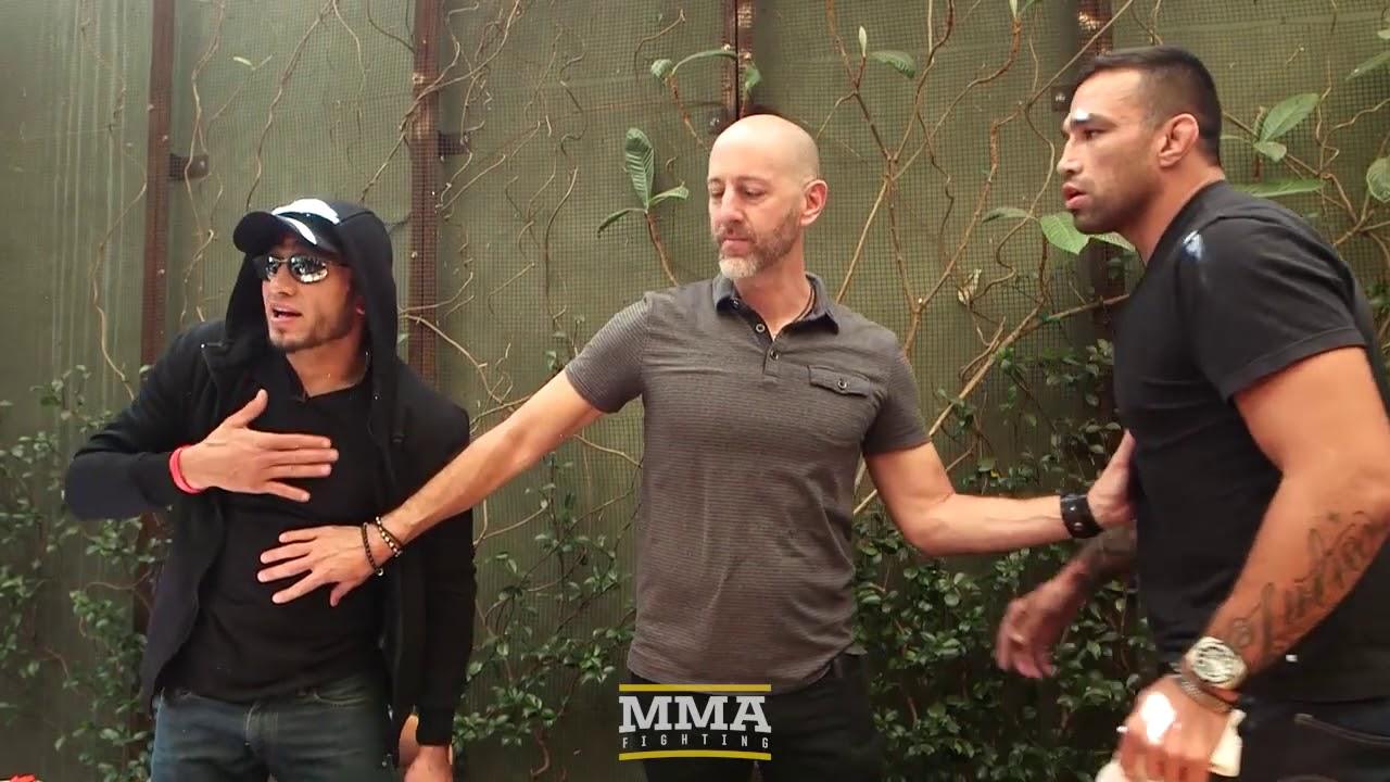 Тони Фергюсон, Фабрисио Вердум должны быть разделены на UFC 216 Медиа обед