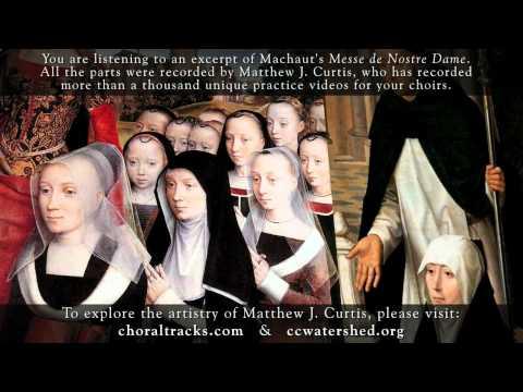 Kyrie, Machaut, Messe de Nostre Dame