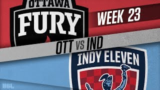 Ottawa Fury FC vs Indy Eleven: August 18, 2018