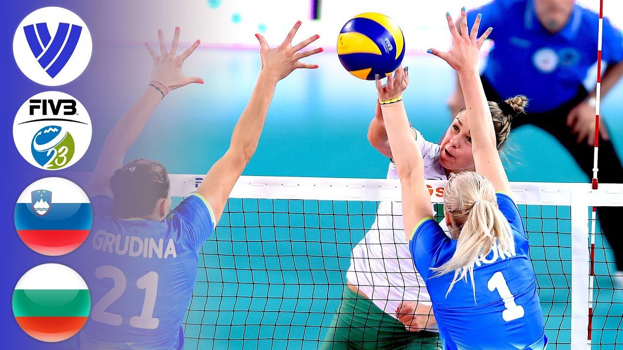 SLO vs. BUL - Full Semifinal | Women's U23 World Championship 2017