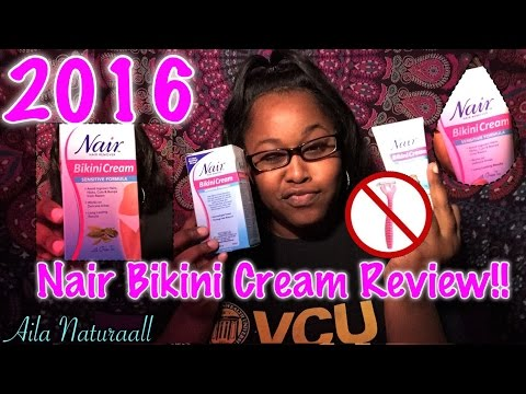 2016 Nair Bikini Cream Product Review Youtube