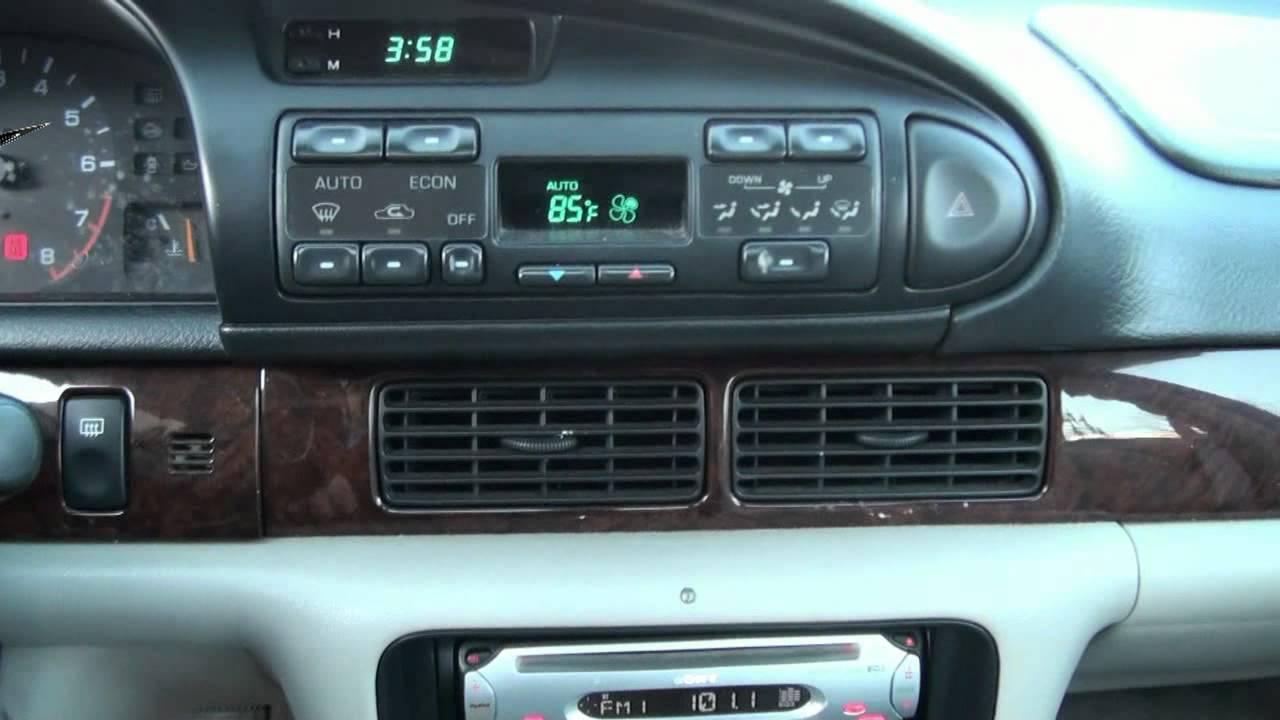 1996 Nissan Altima 2.4 GLE - YouTube