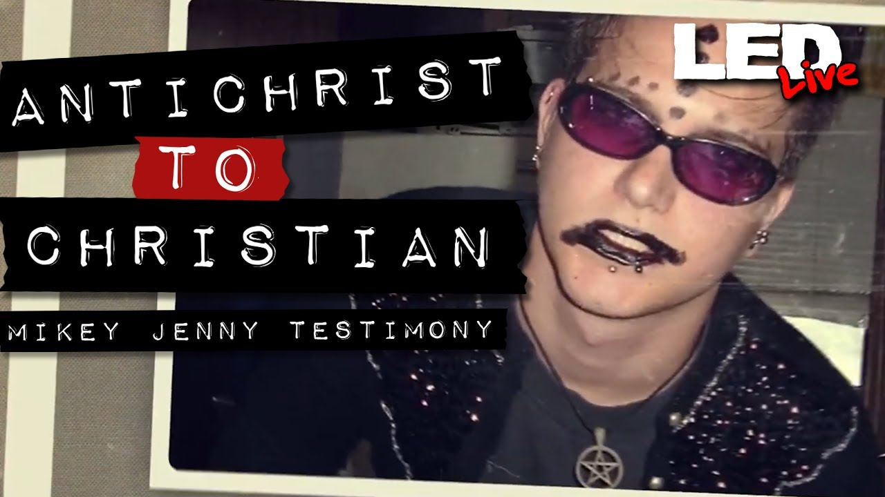 From Goth to God | Mikey Jenny Testimony | Antichrist to Christian