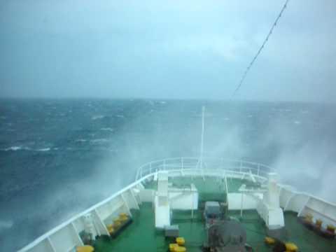 Storm in Otranto Channel