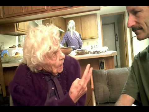 105 year old womans marriage advice.
