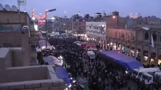 Walk to Karbala, Ziyara of Imam Hussain, Arbaeen. HD مشاي زوار الحسين كربلاء